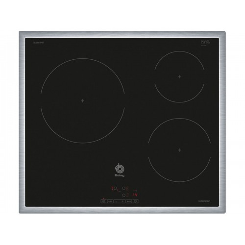 Serie | 4 Bếp từ Bosch Balay 3EB864XR Điều khiển cảm ứng linh hoạt , Viền bo inox